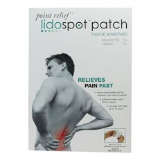 FABRICATION ENTERPRISES POINT RELIEF® LIDOSPOT™ TOPICAL ANESTHETIC PATCH