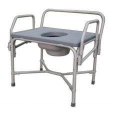 Bariatric Drop-Arm Commode
