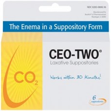 BEUTLICH CEO-TWO® LAXATIVE SUPPOSITORIES
